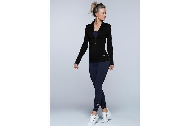 Lorna Jane Women's Freedom Seamless Top (Black, XL)