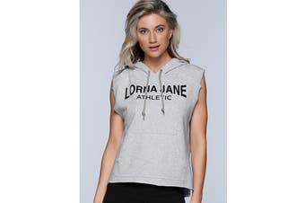 Lorna Jane Women's LJ Athletic Sleeveless Jacket (Light Grey Marl)