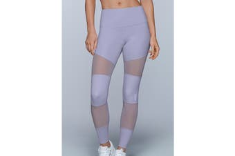 Lorna Jane Women's Vent Booty Support Leggings (Dusty Lilac, XL)
