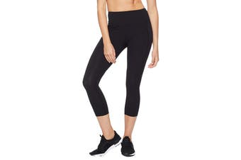 Lorna Jane Women's Booty Support 7/8 Leggings (Black, Size XS)