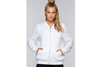 Lorna Jane Women's Take The Leap Jacket (White)
