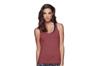 Lorna Jane Women's Missguided Excel Tank Top (Lava Marl, Size S)