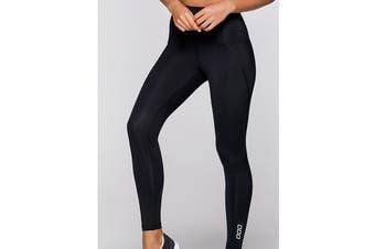 Lorna Jane Women's Complete Comfort F/L Leggings (Black)