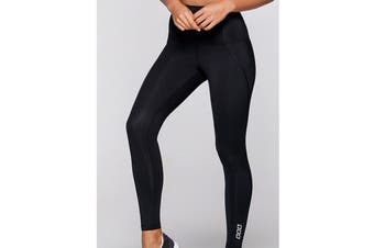 Lorna Jane Women's Complete Comfort F/L Leggings (Black)