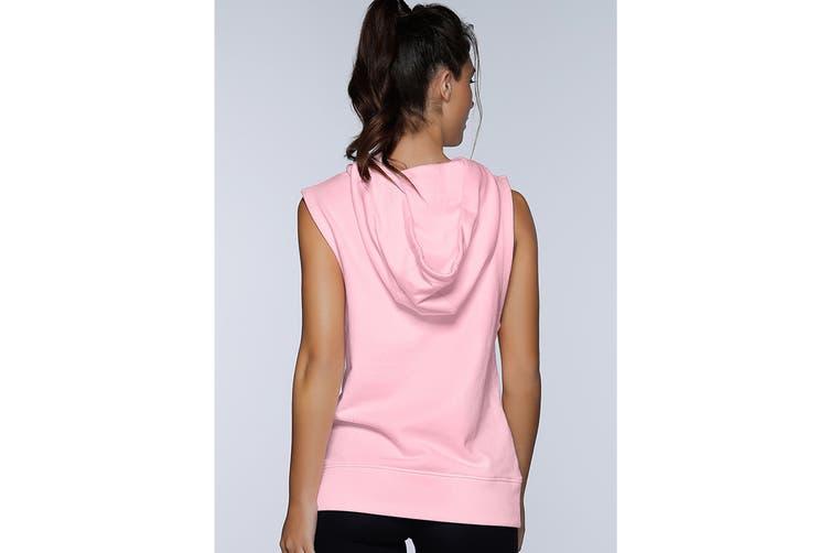 Lorna Jane Women's Break Away Hoodie Jacket (Pastel Pink Marl, XS)