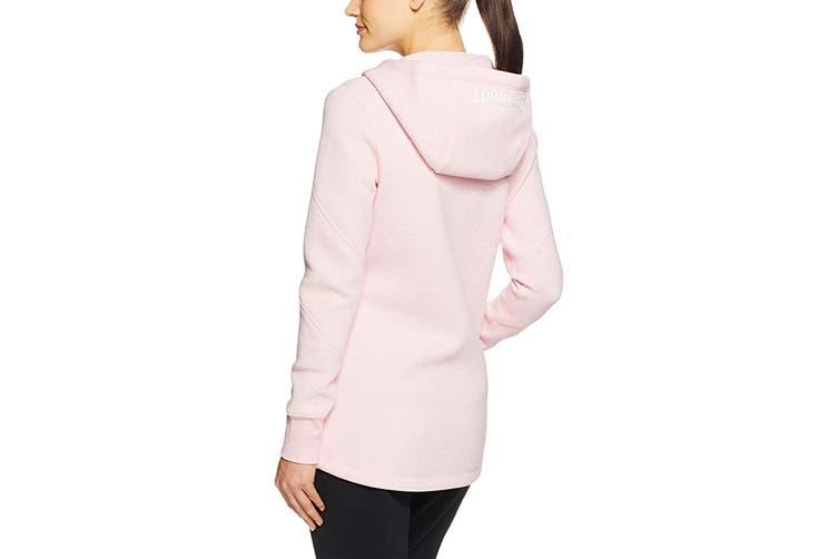 Lorna Jane Women's Performance Tech Hoodie Jacket (Pastel Pink Marl, L)