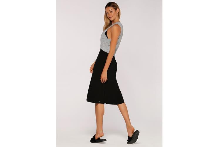 Lorna Jane Women's Laid Back Skirt (Black, Size M)