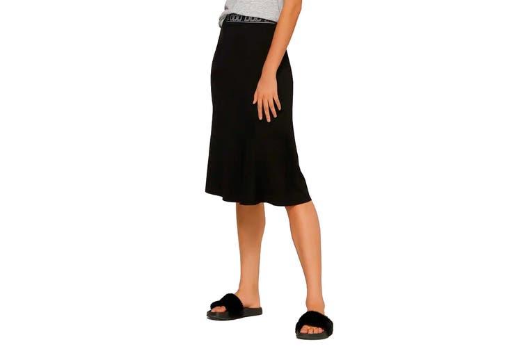 Lorna Jane Women's Laid Back Skirt (Black, Size S)