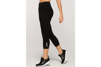Lorna Jane Women's Ultimate Support 7/8 Leggings (Black, Size XS)