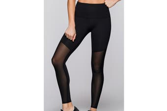 Lorna Jane Women's Hayden F/L Tight Leggings (Black)