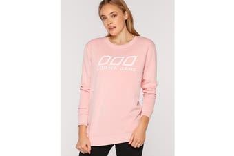 Lorna Jane Women's LJ Varsity T-Shirt (Enchanted Pink, Size S)
