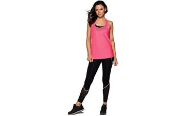 Lorna Jane Women's Swift Active Run Tank Top (Funky Pink)