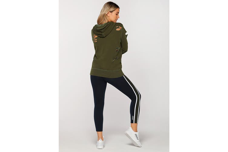 Lorna Jane Women's Hustler Hoodie Jacket (Luxury Green, S)