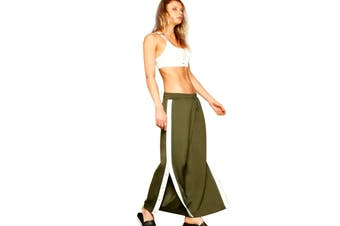 Lorna Jane Women's Grandeur Active Snap Pants (Luxury Green))