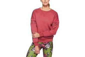 Lorna Jane Women's Hero Sweat Top (Raspberry Sorbet)
