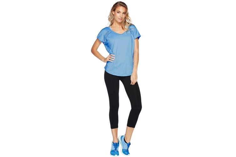 Lorna Jane Women's Synergy Lightweight Top (Breeze Blue, M)