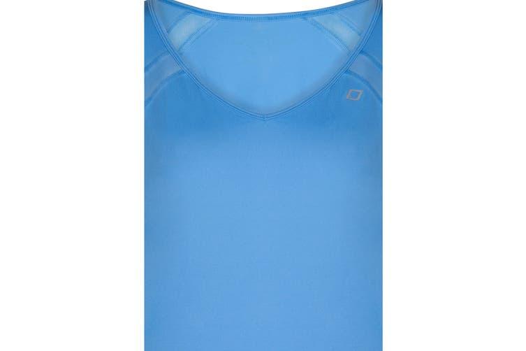 Lorna Jane Women's Synergy Lightweight Top (Breeze Blue, S)