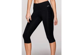Lorna Jane Women's Jada Core Stability Leggings (Black, Size XS)