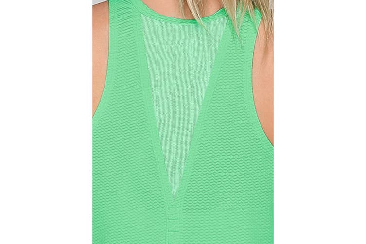 Lorna Jane Women's Rush Active Tank Top (Pale Apple, XS)