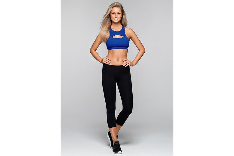 Lorna Jane Women's No Limitations Sports Bra (Waikiki, XXS)