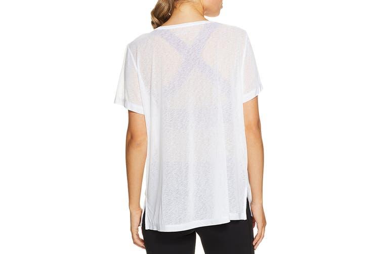 Lorna Jane Women's The Perfect T-Shirt (White, Size L)