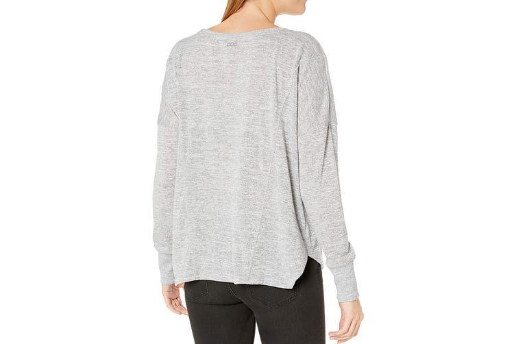 Lorna Jane Women's Darcy Long Sleeve Top (Char Marl, Size XS)