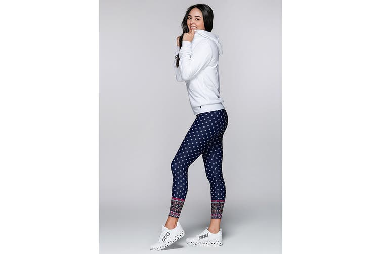 Lorna Jane Women's Arctic Long Sleeve Excel Zip Jacket (White, M)
