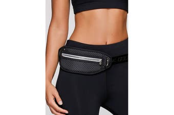 Lorna Jane Women's Swift Run Belt (Black, Size One Sz)