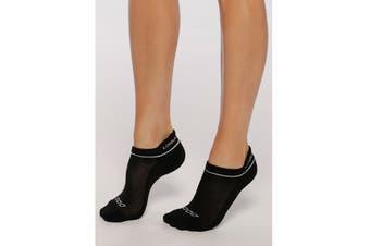 Lorna Jane Women's 2 Pack Running Socks (Assorted Colours, Size One Sz)