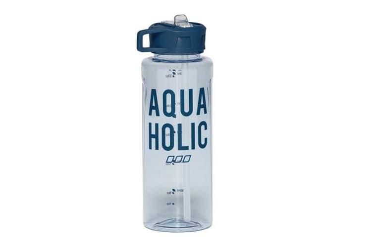 Lorna Jane Women's Aquaholic Water Bottle (Arctic Blue, Size One Sz)