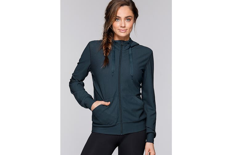 Lorna Jane Women's Apollo Long Sleeve Mesh Jacket (Canyon, XS)