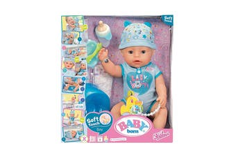 Baby Born Soft Touch Doll (Blue)