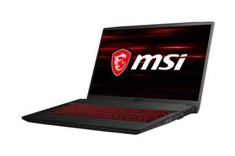 """MSI GF75 Thin 9RCX 17.3"""" Core i5-9300H 8GB RAM 512GB SSD GTX1050Ti W10H Gaming Laptop"""