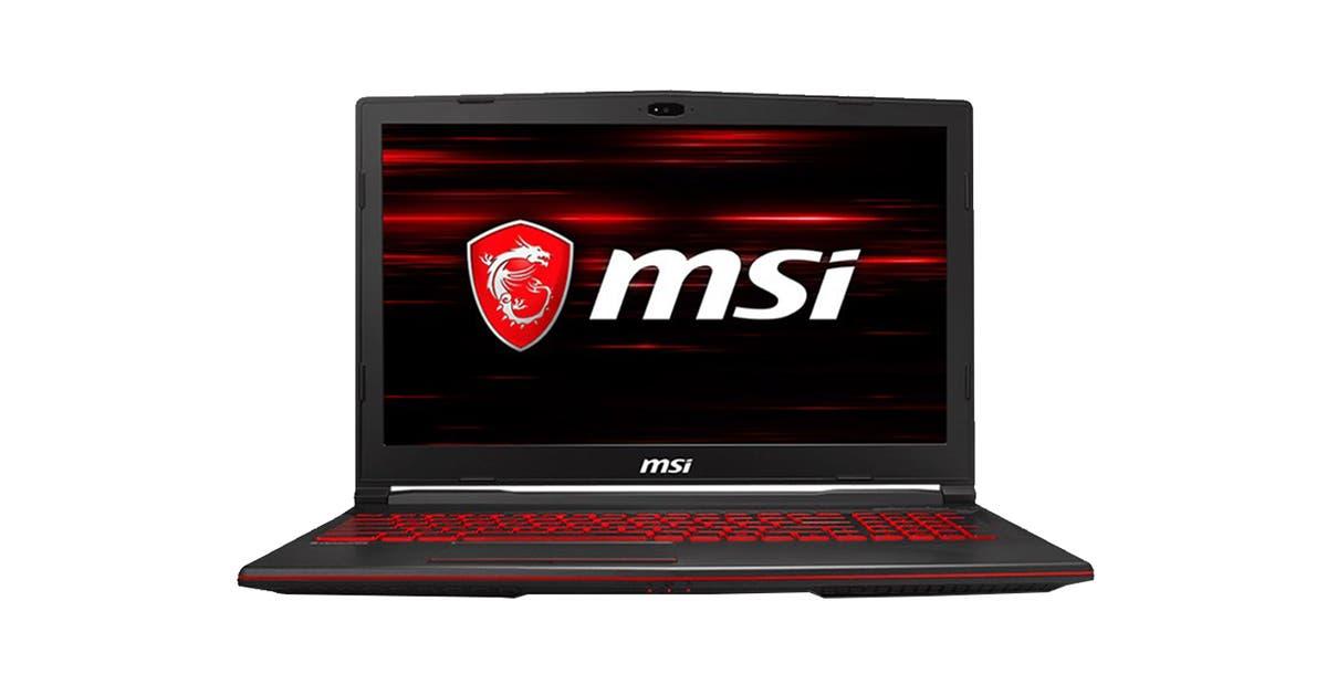 Msi Gl63 8rds 15 6 Core I7 8750h 8gb Ram 512gb Ssd Gtx1050ti W10h Gaming Laptop Kogan Com