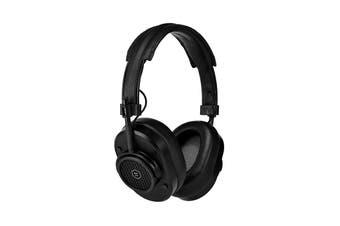 Master & Dynamic MH40 Wireless Over Ear Headphone - Black Metal/Black Coated Canvas (MH40B1-W)