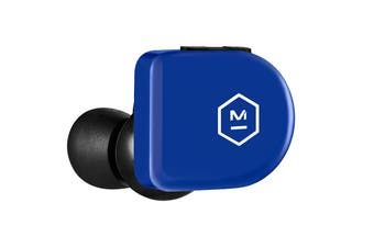 Master & Dynamic MW07 Go True Wireless Earphones - Electric Blue (MW07EB-GO)
