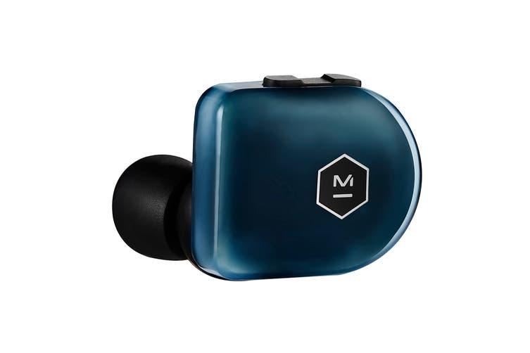 Master & Dynamic MW07 Plus True Wireless Earphones - Steel Blue (MW07SB+)