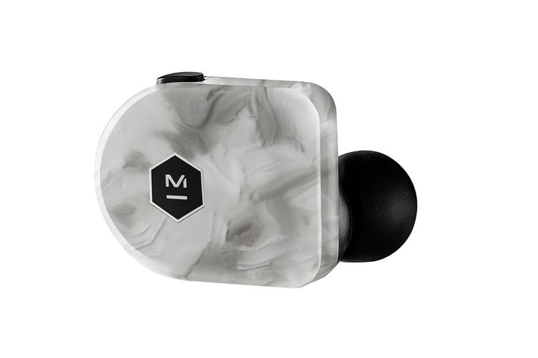 Master & Dynamic MW07 Plus True Wireless Earphones - White Marble (MW07WM+)