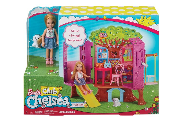 Barbie Club Chelsea Treehouse Playset