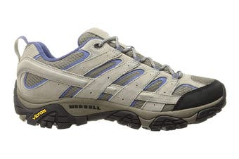 Merrell Women's Moab 2 Ventilator Hiking Shoe (Aluminum/Marlin, Size 8 US)