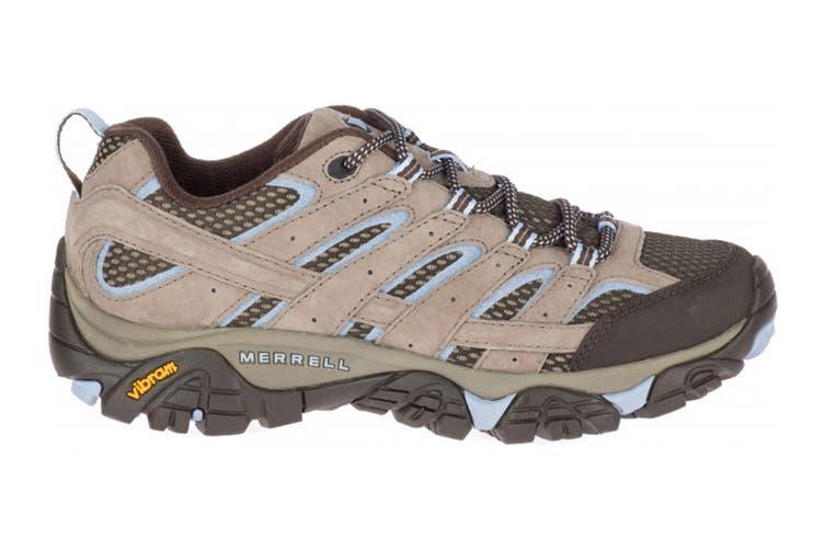 Merrell Women's Moab 2 Ventilator Hiking Shoe (Brindle, Size 6 US)