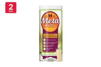 Metamucil 336G Multi Health Fibre With 100% Natural Psyllium (2 Pack)