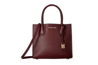 Michael Kors Mercer Medium Messenger (Oxblood)