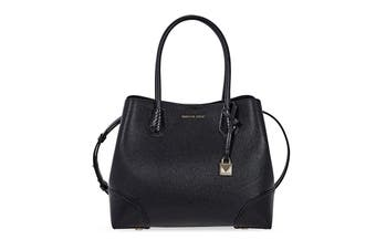 Michael Kors Mercer Pebbled Leather Centre Zip Tote