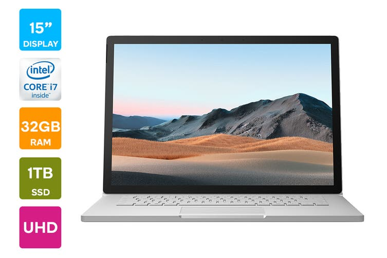 "Microsoft Surface Book 3 15"" (1TB, i7, 32GB RAM)"