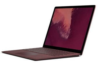 Microsoft Surface Laptop (256GB, i7, 8GB RAM, Burgundy)