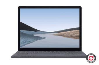 "Refurbished Microsoft Surface Laptop 3 13.5"" (128GB, i5, 8GB RAM, Platinum)"