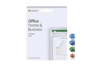 Microsoft Office Home and Business 2019 - Activiation Card