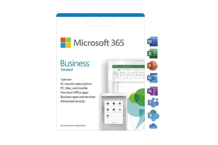 Microsoft 365 Business 1 Person 12 Month Card - Activiation Card