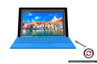 Microsoft Surface Pro 4 (i7, 16GB RAM, 256GB SSD, Platinum) - Microsoft Certified Refurbished